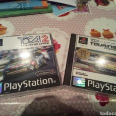 Videojuegos y Consolas: TOCA TOURING CARS 1 Y 2. NUEVOS. PAL ESPAÑA.SIN USO.. Lote 176314787