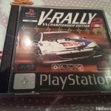 Videojuegos y Consolas: V RALLY 2. PAL ESPAÑA. NUEVO. CAJA 9,5. DISCO Y MANUAL 10.. Lote 176315694