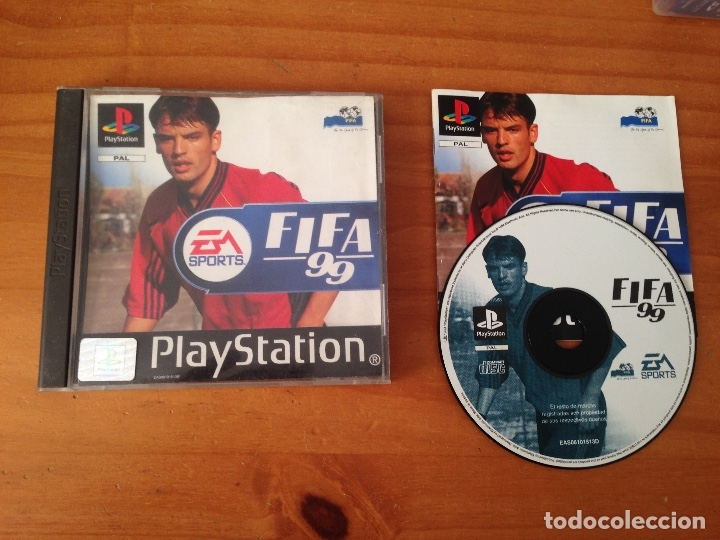 FIFA 99 PSX PLAY STATION (Juguetes - Videojuegos y Consolas - Sony - PS1)