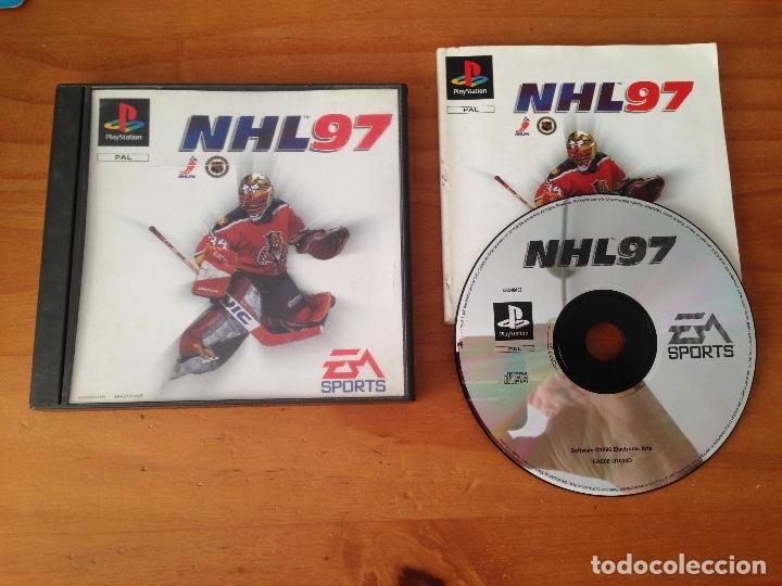 NHL 97. PSX PLAY STATION (Juguetes - Videojuegos y Consolas - Sony - PS1)