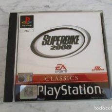 Videojuegos y Consolas: PLAY STATION 1 JUEGO SUPERBIKE 2000. Lote 177073137