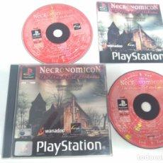 Videojuegos y Consolas: NECRONOMICON!! PARA PS1 PS2 Y PS3!!!! ENTRA Y MIRA MIS OTROS JUEGOS!!. Lote 177115082