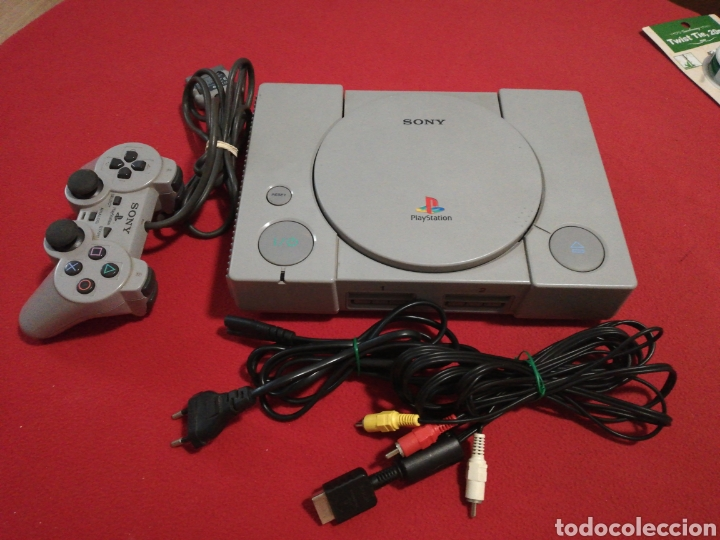 CONSOLA PS1 MODELO SCPH-9002 (Juguetes - Videojuegos y Consolas - Sony - PS1)