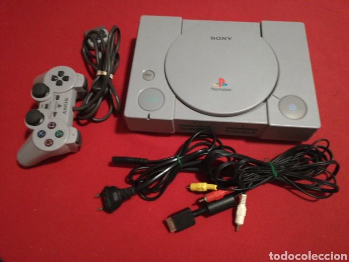 CONSOLA PS1 MODELO SCPH-5502 (Juguetes - Videojuegos y Consolas - Sony - PS1)