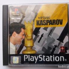 Videojuegos y Consolas: VIRTUAL KASPAROV. PLAYSTATION. AÑO 2000.. Lote 178022303