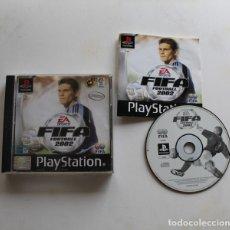 Videojuegos y Consolas: FIFA FOOTBALL 2002, VIDEOJUEGO SONY PLAYSTATION 1 EA SPORTS PS1 PSX FUTBOL. Lote 178994596