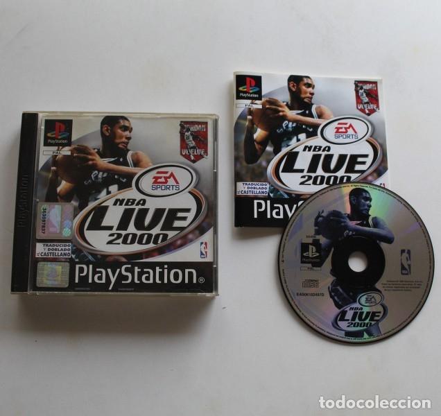 NBA LIVE 2000, VIDEOJUEGO SONY PLAYSTATION 1 EA SPORTS PS1 PSX BASKET (Juguetes - Videojuegos y Consolas - Sony - PS1)