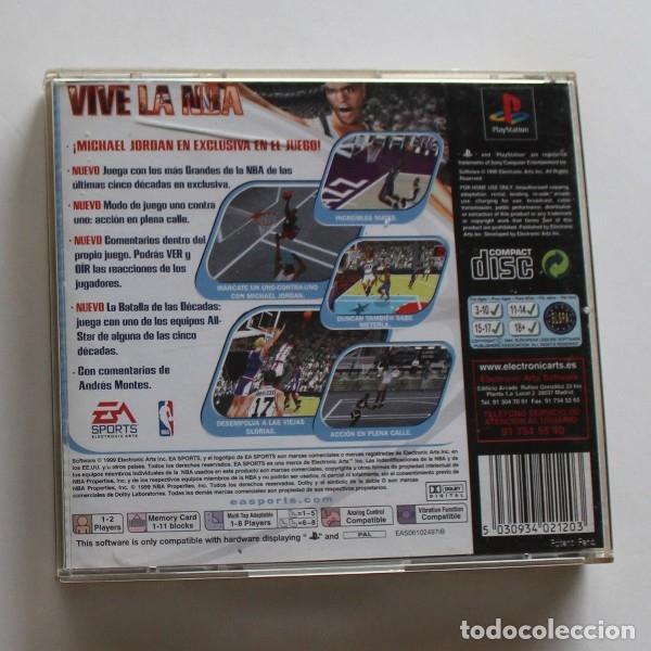 Videojuegos y Consolas: NBA LIVE 2000, VIDEOJUEGO SONY PLAYSTATION 1 EA SPORTS PS1 PSX BASKET - Foto 2 - 178994606