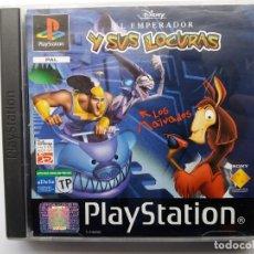 Videojuegos y Consolas: EL EMPERADOR Y SUS LOCURAS. DISNEY. PLAYSTATION. AÑO 2000.. Lote 179156162