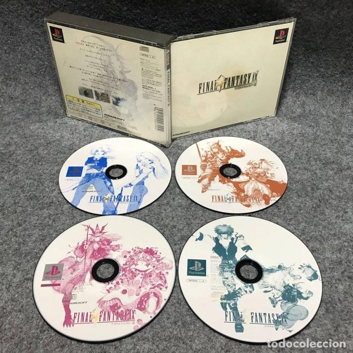 FINAL FANTASY IX SONY PLAYSTATION PS1 (Juguetes - Videojuegos y Consolas - Sony - PS1)