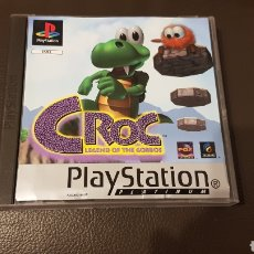 Videojuegos y Consolas: JUEGO PS1 CROC PLAYSTATION 1 LEGEND OF THE BOGGOS. Lote 180038328