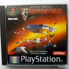 Videojuegos y Consolas: STAR TREK INVASION. PLAYSTATION. AÑO 2000.. Lote 180115687