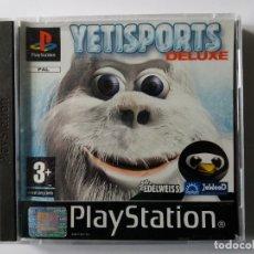 Videojuegos y Consolas: YETISPORTS DELUXE. PLAYSTATION. AÑO 2004.. Lote 180183215