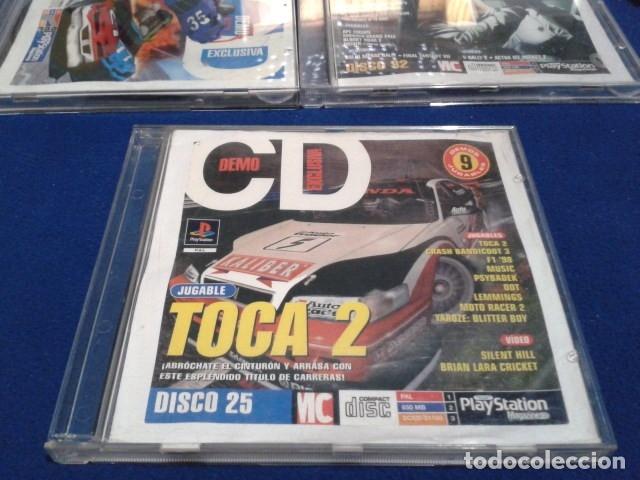 PLAYSTATION DISCO 25 ( TOCA 2 ) 1998 EURO DEMO 40 ( 9 DEMOS JUGABLES + VIDEOS ) (Juguetes - Videojuegos y Consolas - Sony - PS1)