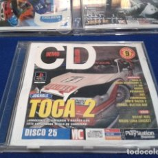 Videojuegos y Consolas: PLAYSTATION DISCO 25 ( TOCA 2 ) 1998 EURO DEMO 40 ( 9 DEMOS JUGABLES + VIDEOS ). Lote 181353970