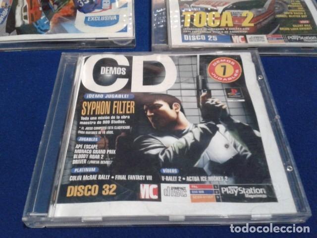PLAYSTATION DISCO 32 ( SYPHON FILTER ) 1999 EURO DEMO 47 ( 7 DEMOS JUGABLES + VIDEOS ) (Juguetes - Videojuegos y Consolas - Sony - PS1)