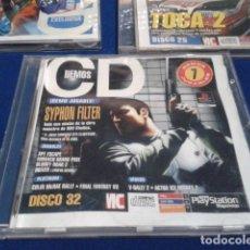 Videojuegos y Consolas: PLAYSTATION DISCO 32 ( SYPHON FILTER ) 1999 EURO DEMO 47 ( 7 DEMOS JUGABLES + VIDEOS ). Lote 181354342