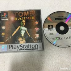 Videojuegos y Consolas: TOMB RAIDER LARA CROFT PLATINUM PSX PS1 PSONE PLAYSTATION 1 PLAY STATION ONE KREATEN. Lote 181867997