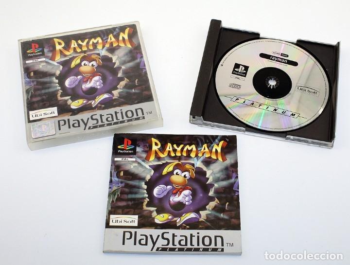 PS1 - RAYMAN - VERSIÓN ESPAÑOLA - FUNCIONADO - PSX - PLAYSTATION - PLATINIUM (Juguetes - Videojuegos y Consolas - Sony - PS1)