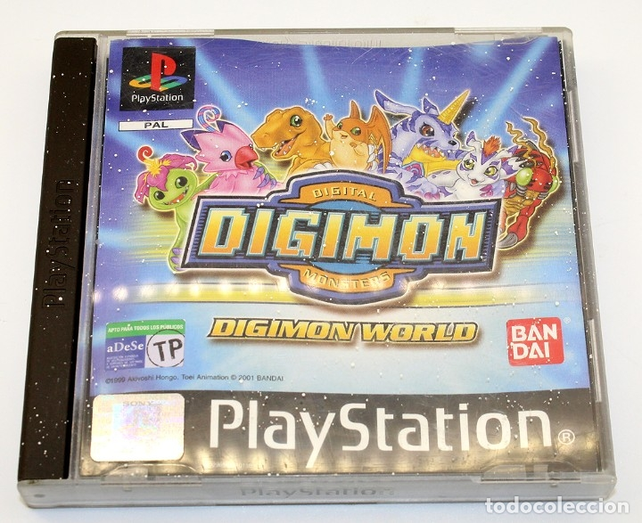 PS1 - DIGIMON WORLD - VERSIÓN ESPAÑOLA - FUNCIONADO - PSX - PLAYSTATION (Juguetes - Videojuegos y Consolas - Sony - PS1)