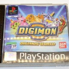 Videojuegos y Consolas: PS1 - DIGIMON WORLD - VERSIÓN ESPAÑOLA - FUNCIONADO - PSX - PLAYSTATION. Lote 182059577