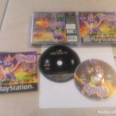 Videojuegos y Consolas: SPYRO THE DRAGON PLAYSTATION PS1 COMPLETO PAL-ESPAÑA. Lote 182089883
