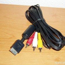 Videojuegos y Consolas: CABLE RCA AUDIO VIDEO SONY PLAYSTATION 1 2 3 PS1 PS2 PS3. Lote 182380030