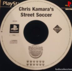 Videojuegos y Consolas: CHRIS KAMARA'S STREET SOCCER. Lote 182427100