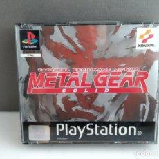 Videojuegos y Consolas: ANTIGUO JUEGO PSX PLAY METAL GEAR MUY CUIDADO . Lote 182486495