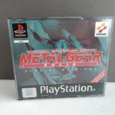 Videojuegos y Consolas: ANTIGUO JUEGO PSX PLAY METAL GEAR MUY CUIDADO ESPECIAL MISIONS . Lote 182486981