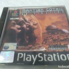 Jeux Vidéo et Consoles: ANTIGUO JUEGO PARA PSX PLAY 1 MARTIAN GOTHIC. Lote 182856805