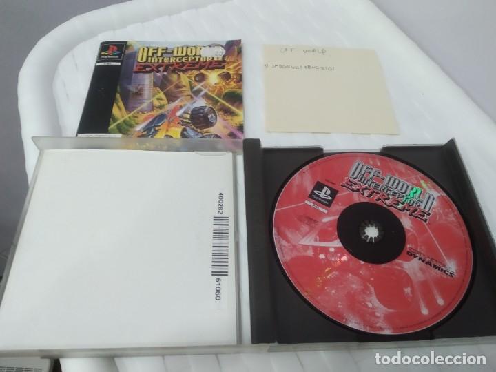 Videojuegos y Consolas: ANTIGUO JUEGO PARA PSX PLAY 1 OFF WORLD INTERCEPTOR EXTREME - Foto 4 - 182857685