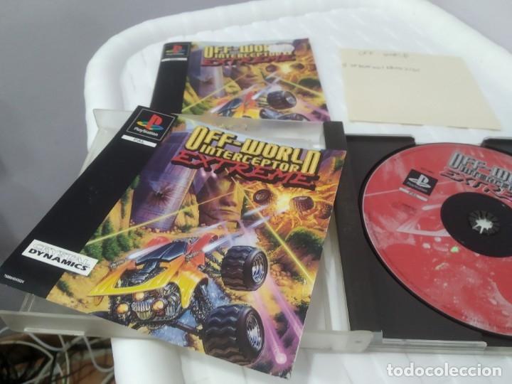 Videojuegos y Consolas: ANTIGUO JUEGO PARA PSX PLAY 1 OFF WORLD INTERCEPTOR EXTREME - Foto 5 - 182857685