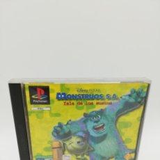 Videojuegos y Consolas: MONSTRUOS S.A. ISLA DE LOS SUSTOS PS1. Lote 182863471