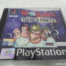 Videojuegos y Consolas: ANTIGUO JUEGO PARA PSX PLAY 1 WORMS WORLD PARTY. Lote 182893906