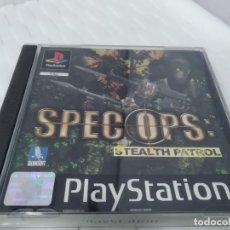 Videojuegos y Consolas: JUEGO PARA PLAY 1 PSX SPEC OPS. Lote 182949226