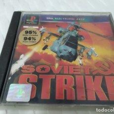 Videojuegos y Consolas: JUEGO PARA PLAY 1 PSX SOVIET STRIKE. Lote 182958011