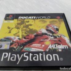Videojuegos y Consolas: JUEGO PARA PLAY 1 PSX DUCATI WORLD. Lote 182964085