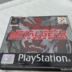 Videojuegos y Consolas: JUEGO PARA PLAY 1 PSX METAL GEAR . Lote 182977237