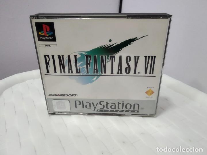 JUEGO PARA PLAY 1 PSX FINAL FANTASY VII (Juguetes - Videojuegos y Consolas - Sony - PS1)
