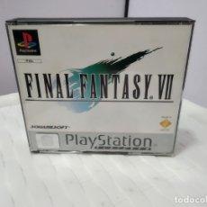 Videojuegos y Consolas: JUEGO PARA PLAY 1 PSX FINAL FANTASY VII. Lote 182977321