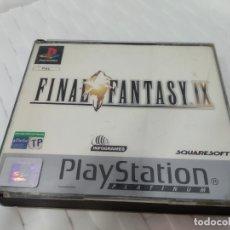 Videojuegos y Consolas: JUEGO PARA PLAY 1 PSX FINAL FANTASY IX. Lote 182977492