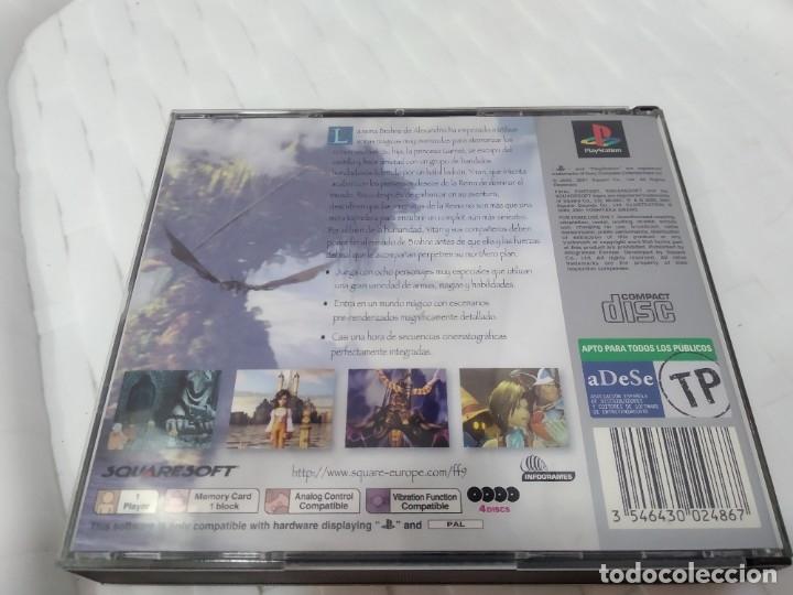 Videojuegos y Consolas: JUEGO PARA PLAY 1 PSX FINAL FANTASY IX - Foto 3 - 182977780