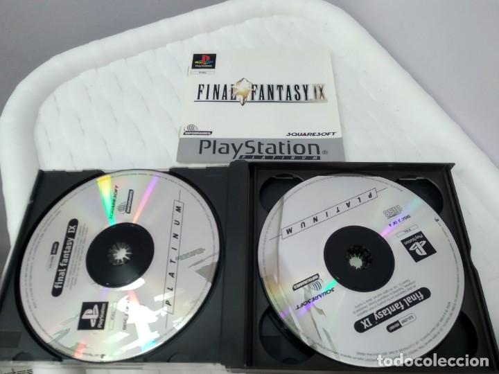 Videojuegos y Consolas: JUEGO PARA PLAY 1 PSX FINAL FANTASY IX - Foto 4 - 182977780