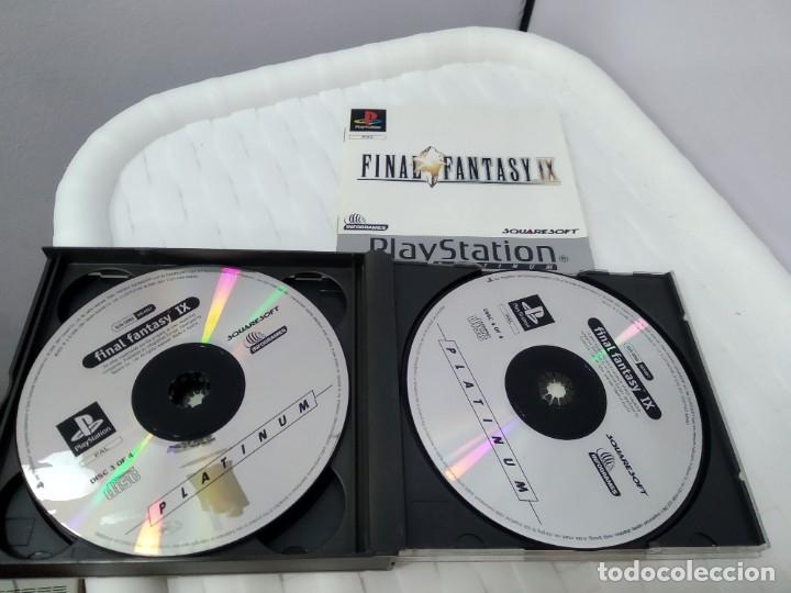 Videojuegos y Consolas: JUEGO PARA PLAY 1 PSX FINAL FANTASY IX - Foto 5 - 182977780