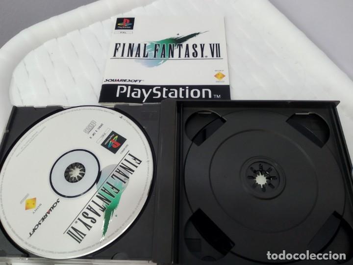 Videojuegos y Consolas: JUEGO PARA PLAY 1 PSX FINAL FANTASY VII - Foto 4 - 182977953