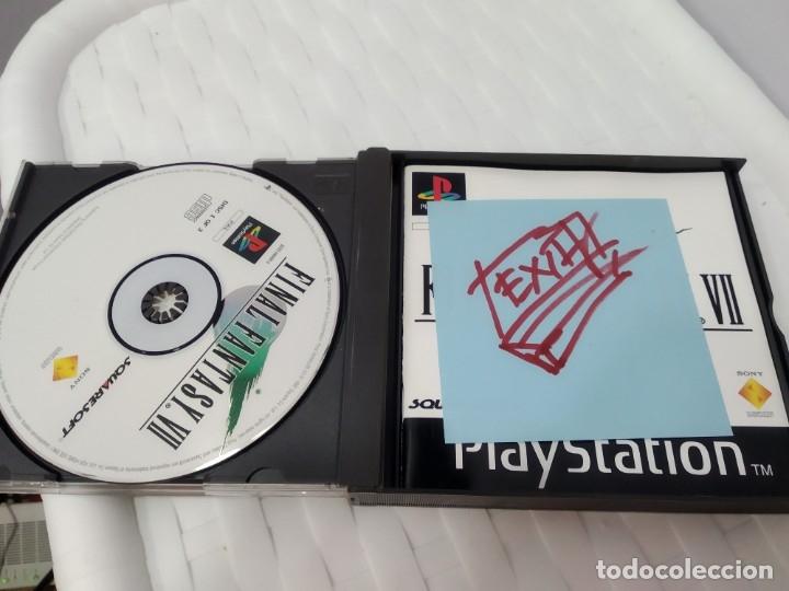 Videojuegos y Consolas: JUEGO PARA PLAY 1 PSX FINAL FANTASY VII - Foto 6 - 182977953