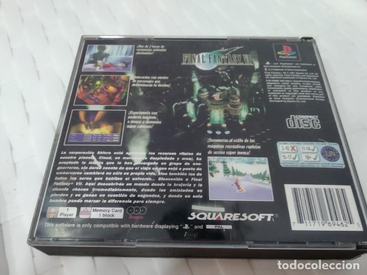 Videojuegos y Consolas: JUEGO PARA PLAY 1 PSX FINAL FANTASY VII - Foto 3 - 182978047
