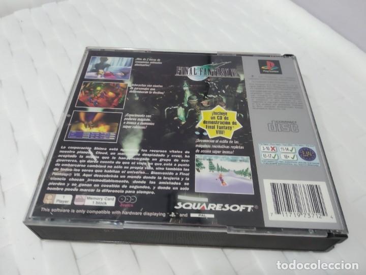 Videojuegos y Consolas: JUEGO PARA PLAY 1 PSX FINAL FANTASY VII - Foto 3 - 182978120