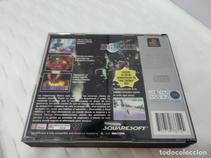 Videojuegos y Consolas: JUEGO PARA PLAY 1 PSX FINAL FANTASY VII - Foto 3 - 182978231